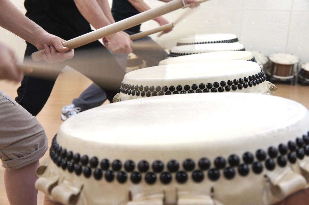 和太鼓教室内イメージ